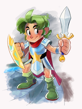 Wonderboy: The Dragon's Trap by Crumbelievable