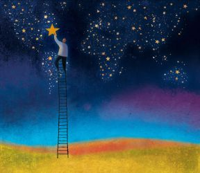Ladder to the Stars - America by roweig