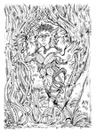 Monster a Day Art Challenge: 20. Dryad by Granitoons
