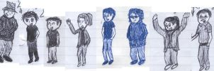 Crewtoon characters edited by Mike-Obee-Lay