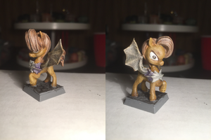 Brown Bat Pony Table-Top Miniature by NPCtendo