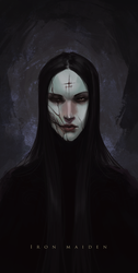 The Iron Maiden by Banished-shadow