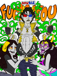 Double F#ck You WIP by EvilAmishWerewolf