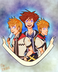 KH soft boys by MayStardust