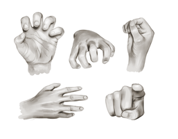 Hands practice by kimpertinent