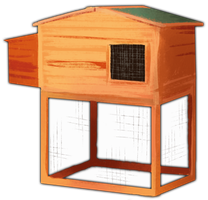 Chicken Coop by TokoTime