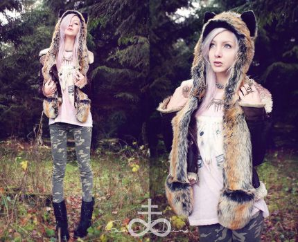 The girl who cried wolf by SinaDominoCollins