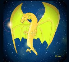 Golden Dragon by nowiamhere