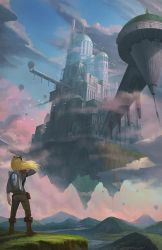 Sky Castle by yagaminoue