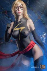 MS Marvel bodypaint #2 by Vandych100