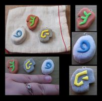 A Mage's Pouch - WoW Stones by processofwinter