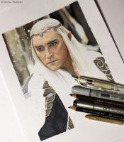 Thranduil WIP by Quelchii