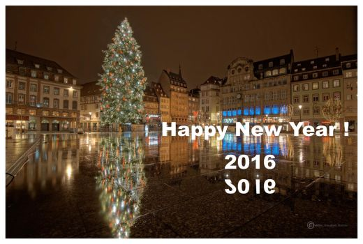 Happy New Year by Satourne