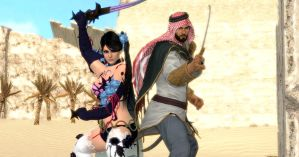 The Middle Eastern Warriors by Violachanbro