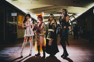IPL 5 Cosplay Group by Kiwiibuns