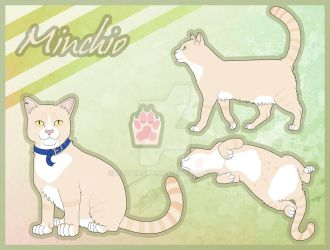 Minchio the Cat Reference sheet by AltairSky