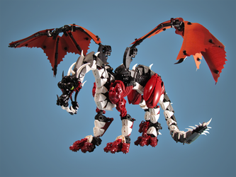 Redfoot Dragon by retinence