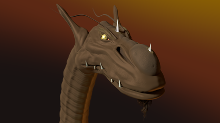 The Worm of Sligoff in 3D by paulrich