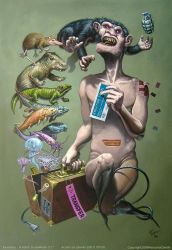 'A ticket to nowhere ?' by pierk