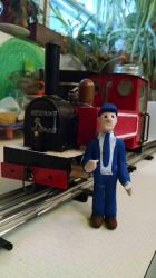 Little Train driver by Andrewk4