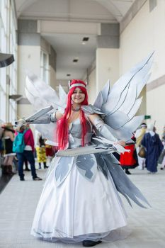 Erza Scarlet Heaven's Wheel Armor Cosplay 1 by mauralucky7