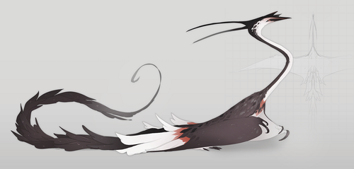 Thiornis by QuillCoil