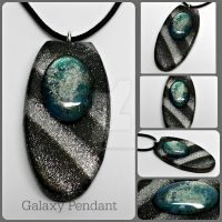 Galaxy Pendant by MandarinMoon