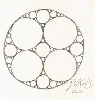 Apollonian Gasket by dtchen