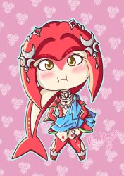 Mipha from breath of the wild ( botw ) by LadyDollRose