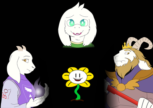 Dreemurr Family by JOrmesher
