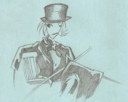 She-man in a Top Hat by AnimeElf7