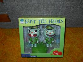 Happy Tree Friends Flippy Cut-Up set by aohoshi2008