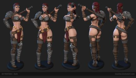 Barb 3D printable by Texelion