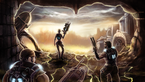 Gears of War 3 by FalyneVarger
