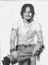 Johnny Depp 2 by D17rulez