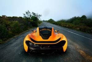 McLaren P1 Misty Road by UtopiaSkyPhotoWorks