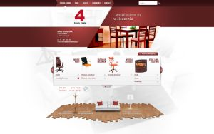 Furniture site by niebrat
