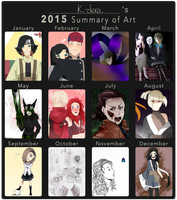2015 Art Summary by K-dera