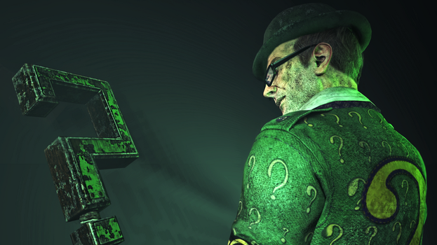 The Riddler by Scotchlover