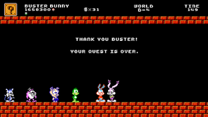 Tiny Toons in SMB Crossover Ending Wallpaper by X2011Racer