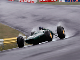 Jim Clark - Lotus 25 by DonBarco