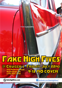 Flier for Fake High Fives 5 by ronamo