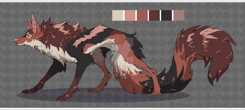 Auction Canine adopt [closed] by Homicidebrush
