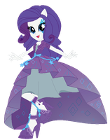 Rarity Gala Dress by GihhBloonde