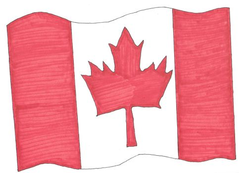 Canada's Flag by Mew248