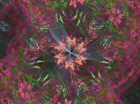 floral power fractal fun by TanithLipsky