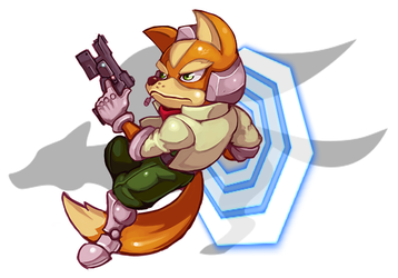 Fox McCloud by Orkimides
