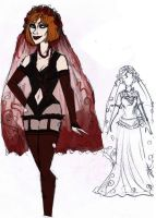 Blood Bride re-design sketch by Lily-pily