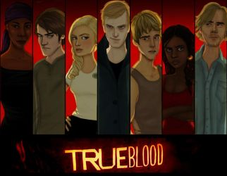 TRUE BLOOD by joshcmartin