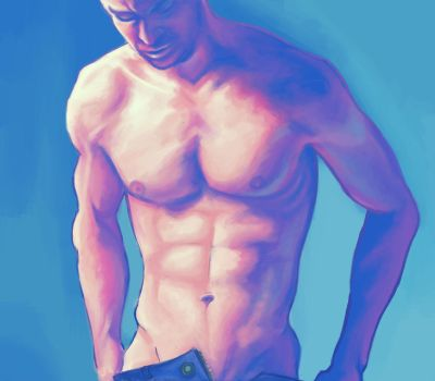 Fassbender Study 1 by Beckerwith